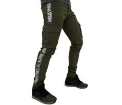 Alpha Industries nohavice AI Tape Pant dark green