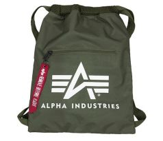Alpha Industries Gym Bag sage green